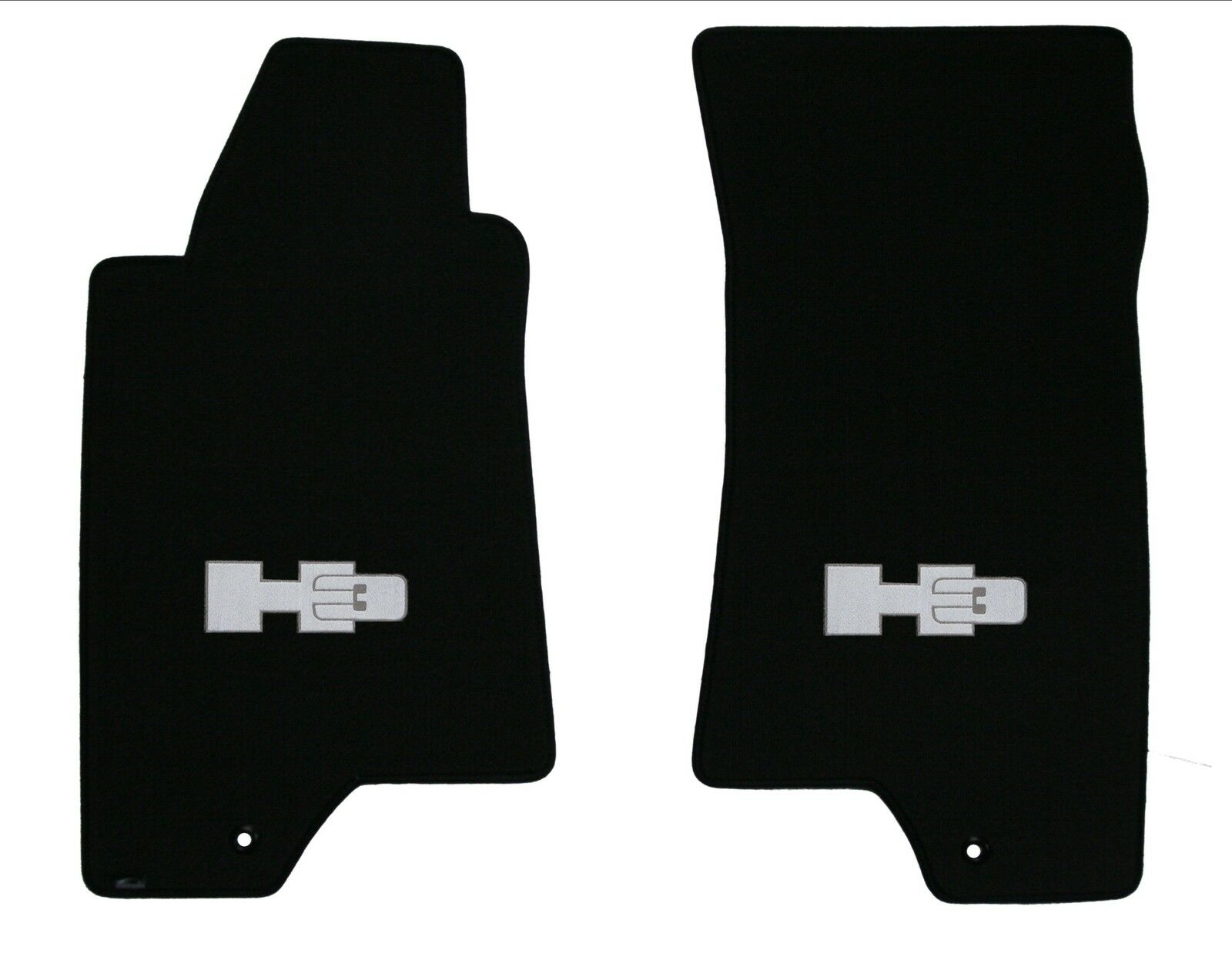 Lloyd Mats CLASSIC LOOP 1pc 2nd row FLOOR MAT with logo; 2006 to 2010 Hummer H3