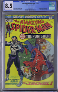Amazing Spider-Man #129 Marvel 1974 1st Appearance Punisher CGC 8.5(VERY FINE +)