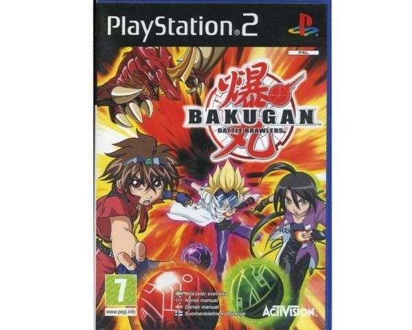 Bakugan - Battle brawlers, PS2, strategi
