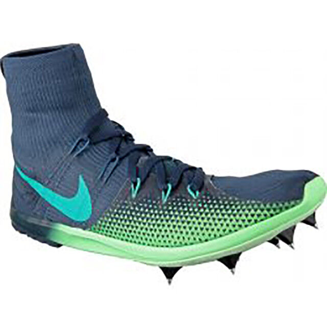 NEW Nike Zoom Victory 4 XC Racing Spike Space Navy/Green 878804-433 Men Size 7.5