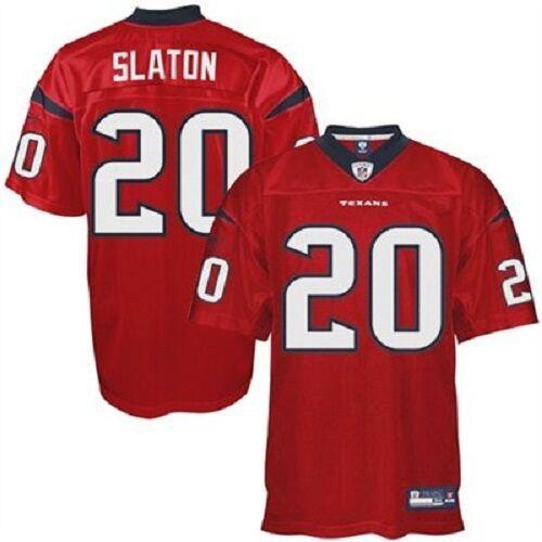 NFL NFL NFL Authentic ONFIELD Trikot HOUSTON TEXANS Steve Slaton 20 rot Football Jersey cb6731