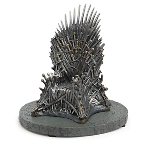 Game of thrones iron throne action figure model chair for Buy iron throne chair