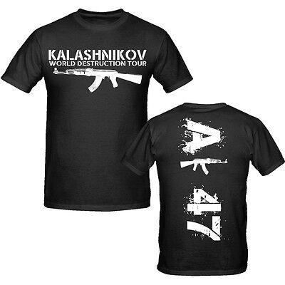AK 47 - SHIRT S-XXXL Neu // Weapons Military Revolution Molotov, Kalashnikov