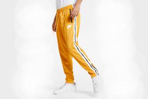 Apretar Bloquear principio  Nuevo Con Etiquetas Nike NSP Chándal Pantalones Deportivos Pantalones Amarillo  Hombre 2019 AR1613-752 L | eBay