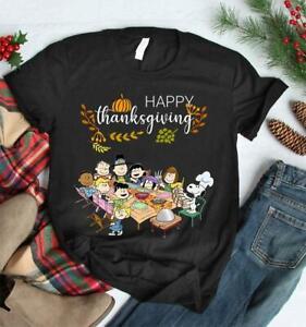 Happy-Thanksgiving-Peanuts-Gang-Shirt-Top-Peanut-Characters-Charlie-Brown