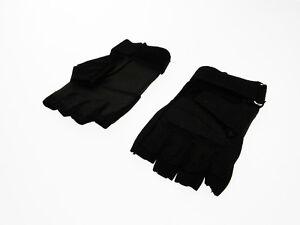 Gants-Noirs-tactique-moitie-en-cordura-renforcement-cuir-ecologique