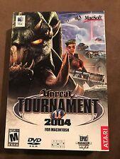 RARE NEW for MAC Unreal Tournament 2004 for Macintosh Computer Game