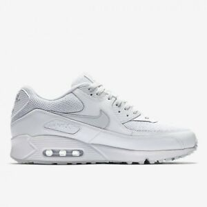 Mens Nike Air Max 90 Essential WhitePure Platinum 537384