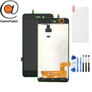 LCD-Ecran-tactile-assembles-Wiko-Sunny-3-Noir-Outils-Protection