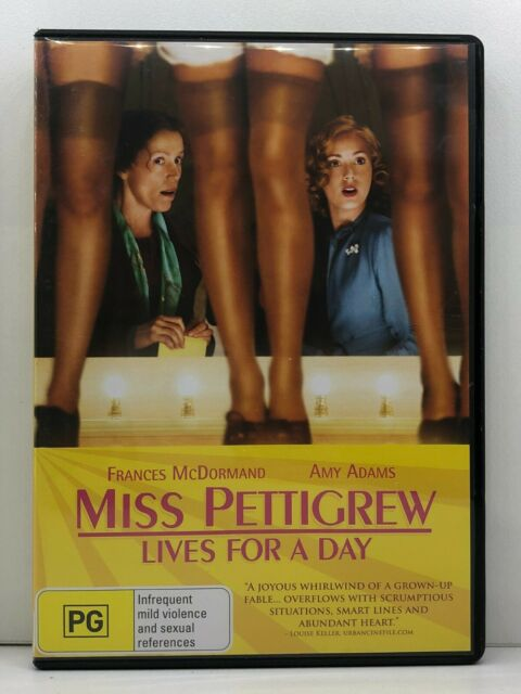 DVD Miss Pettigrew Lives For A Day - FREE POST #P3