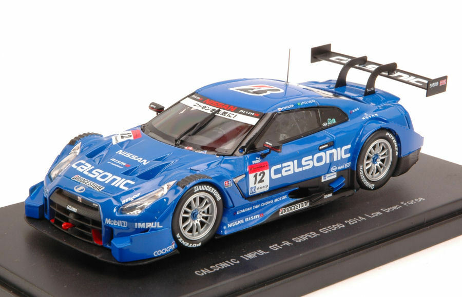 Nissan Gt-R  12 Winner Fuji Super Gt500 2014 H. Yashuda J. Poliveira 1 43 Model