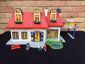PLAYMOBIL maison contemporaine 3965 meublée mais à compléter (voir photo) | eBay