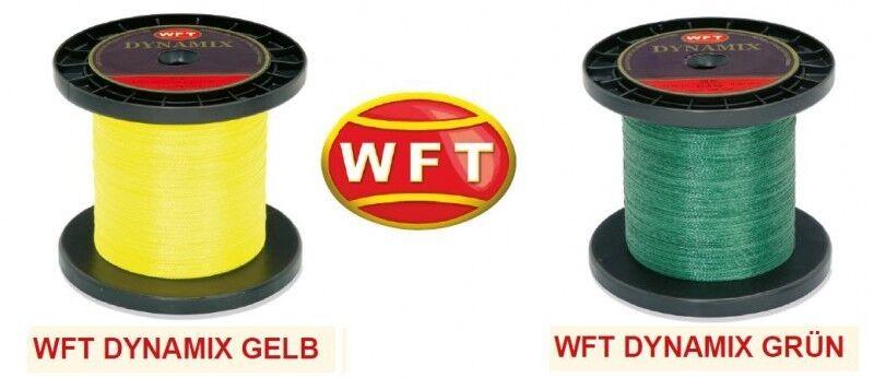 (/1m) WFT Dynamix filo intrecciato 1000m 0,12mm-0, 40mm