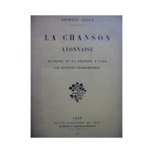 Ausdrucksvoll Droux Georges Das Lied Lyon 1907 Partitur Sheet Music Score Noten & Songbooks