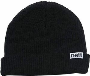 f6e0117a3ab Neff Fold Beanie Black One Size 2014 for sale online