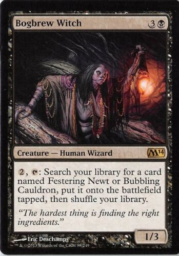 Details about  /Bogbrew Witch *Rare* Magic MtG x1 M14 SP