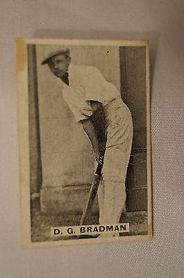 SWEETACRES 1930's - 2nd Series - Vintage Cricket Card-  Don Bradman