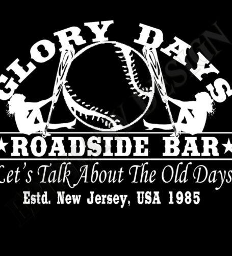 Bruce Springsteen Inspired Inspired Hoody Hoodie T-Shirt Glory Days The 80s Boss