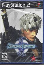 Ps2 PlayStation 2 gioco **SWORDS OF DESTINY** Nuovo Originale Sigillato Italiano