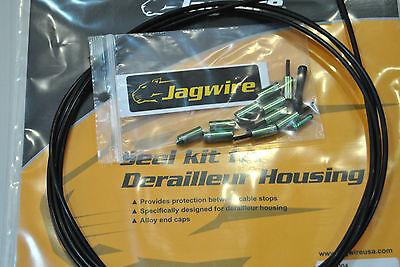 Kit Terminali Guaine 4,5mm Jagwire Completo per Una Bici Verde//PRO END CAPS GR