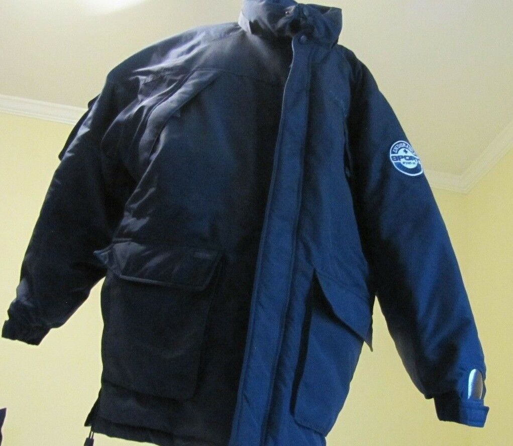 Heavy Duty FUBU Hooded Parka L Endurance Sport Collection Down Filled