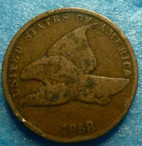 1858-SL-Flying-Eagle-Cent-Coin-RR58-5