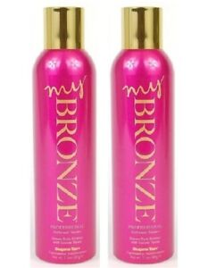 2x-Supre-MY-BRONZE-Professional-Sunless-Airbrush-Self-Tanner-Spray-New-7-5-Oz