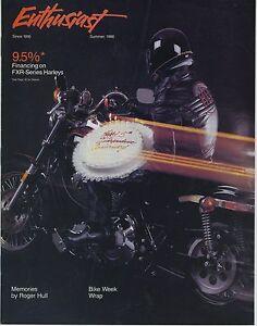 (39a) Enthusiast - Harley Davidson - Summer 1986 Cnnrjjpt-07233812-710098558