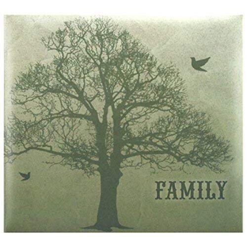 Mbi árbol familiar Post encuadernado álbum de recortes 12 X 12 Pulgadas 12 pulgadas álbum wname Ventana