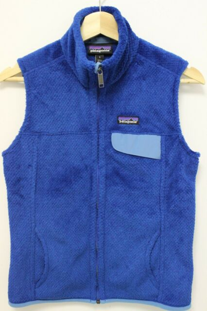 PATAGONIA Women's Re-Tool Fleece Vest - Bandana Channel Blue - Size Small