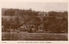 The Dell Farm Latimer House Nr Chesham RP pc used 1911 WHS Kingsway   Ref A143