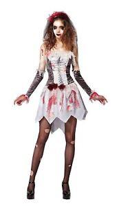 MéThodique Squelette Mariée Gris/blanc, Femme, Halloween, Robe Fantaisie-afficher Le Titre D'origine Saveur Aromatique