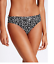 Roll Top Hipster Bottom M/&S Print Halterneck Padded Plunge Bikini Top