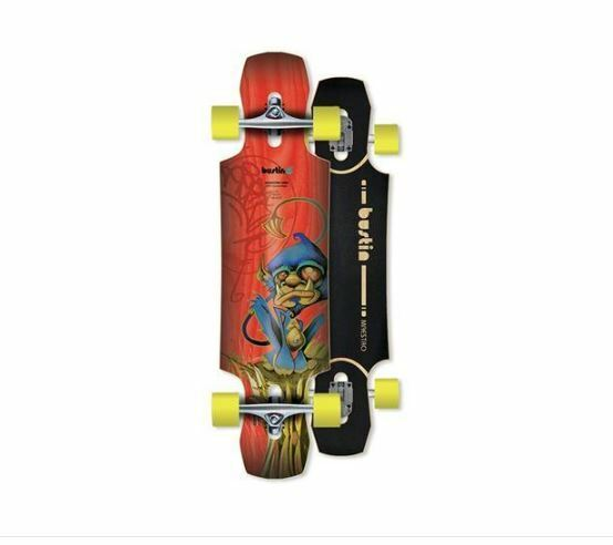 Bustin Boards Complete Push Maestro 34  Red Monkey Canadian Maple FREE POST