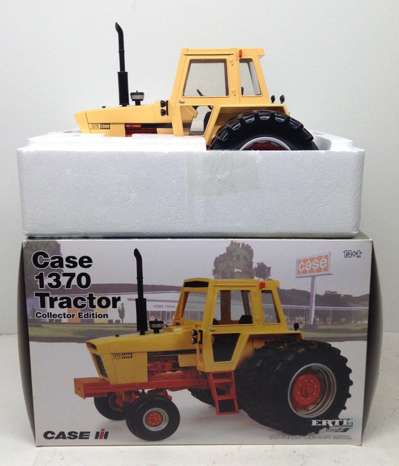caso 1370 Tractor Con Agri Rey DUALS & 504 Turbo Edicion Coleccionista Ertl