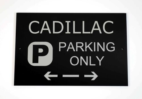 Asscher Design Cars and Signage Great Britain Cadillac Parking Only Sign