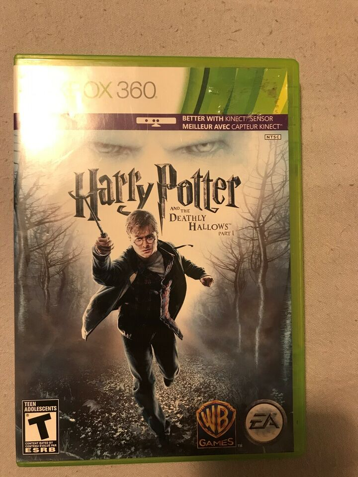 Harry Potter and the Deathly Hallows part 1, Xbox 360,
