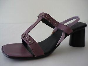AEROSOLES-Damen-Schuhe-38-Lila-Leder-Sandaletten-NEU