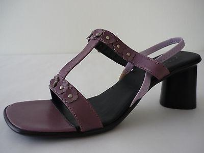 AEROSOLES Damen Schuhe 38 Lila Leder Sandaletten NEU