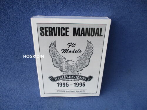 1995 - 1996 Harley touring service manual road king electra glide FLT