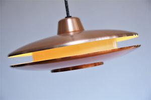 60er 70er  Kupfer Ufo Sputnik   Doria Mid Century Panton Eames ära