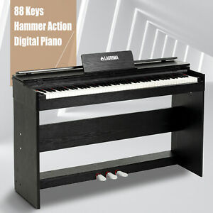 88-Weighted-Action-Key-Electric-Digital-LCD-Piano-Keyboard-w-Stand-3-Pedal-Board