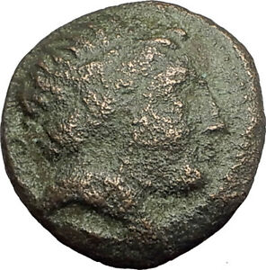 Philip-II-359BC-Olympic-Games-HORSE-Race-WIN-Macedonia-Ancient-Greek-Coin-i62513
