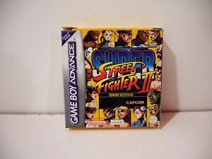 Super-Street-Fighter-II-2-Turbo-Revival-Nintendo-Game-Boy-Advance-GBA-Pal-Euro