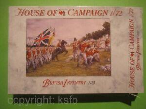 1-72-A-Call-to-Arms-65-US-Unabhaengigkeitskrieg-Britische-Infanterie-von-1775