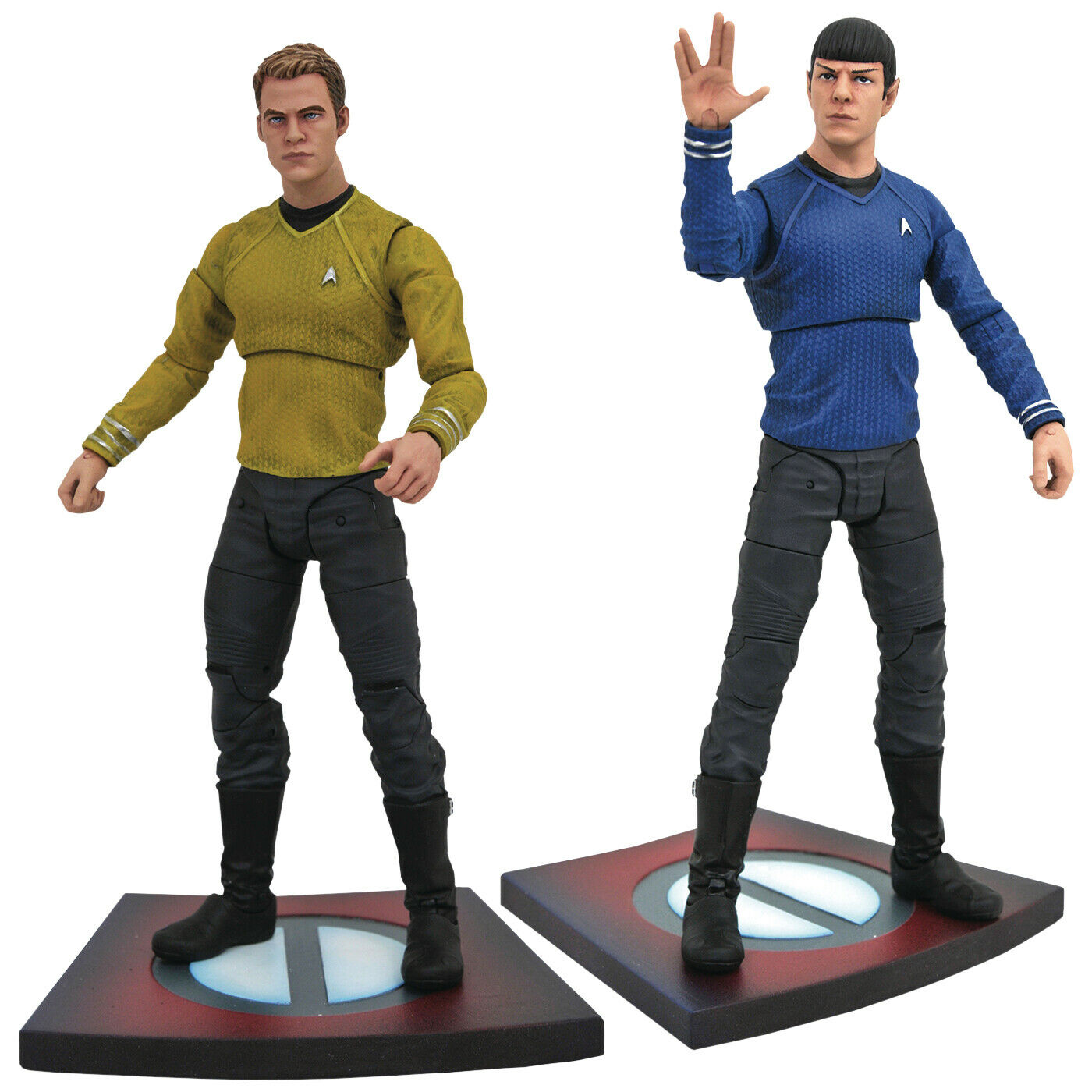 "Star Trek  Into Darkness - Series 1 7"" Action Figure Assortment (Set of 2)"