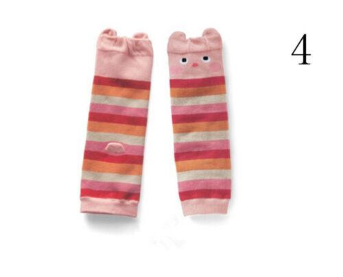 Cartoon Baby Leg Warmers Baby Boys Girls Toddler knee-length Striped  Of Ri