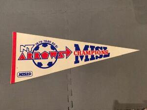 MISL New York Arrows Vintage Soccer Pennant   eBay