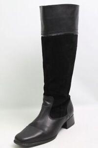 Choizz-Stiefel-schwarz-Nubukleder-Gr-38-UK-5