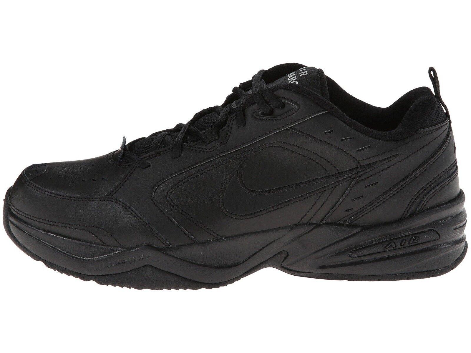 Nike Men's Air Monarch IV Training shoes (415445 001) Black Sizes 8.5-13 Medium W